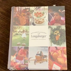 "Brand new ""Entertaining with Longaberger"" in wrap"